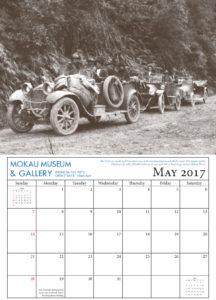 Calendar May 2017 Mokau Museum and Gallery