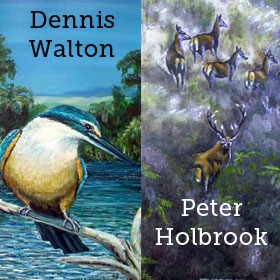 Dennis Walton and Peter Holbrook
